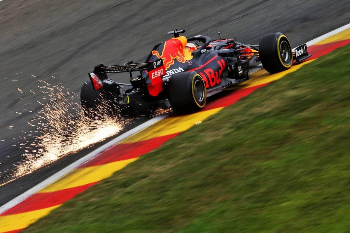 Verstappen edges Ricciardo in second practice at Spa