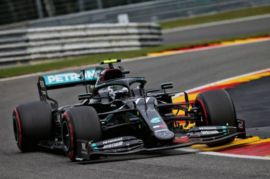 Valtteri Bottas (FIN) Mercedes AMG F1 W11. 28.08.2020. Formula 1 World Championship, Rd 7, Belgian Grand Prix, Spa Francorchamps, Belgium, Practice Day. - www.xpbimages.com, EMail: requests@xpbimages.com © Copyright: Batchelor / XPB Images