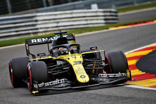 Daniel Ricciardo (AUS) Renault F1 Team RS20. 28.08.2020. Formula 1 World Championship, Rd 7, Belgian Grand Prix, Spa Francorchamps, Belgium, Practice Day. - www.xpbimages.com, EMail: requests@xpbimages.com © Copyright: Batchelor / XPB Images