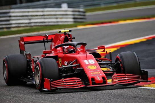 Charles Leclerc (MON) Ferrari SF1000. 28.08.2020. Formula 1 World Championship, Rd 7, Belgian Grand Prix, Spa Francorchamps, Belgium, Practice Day. - www.xpbimages.com, EMail: requests@xpbimages.com © Copyright: Batchelor / XPB Images