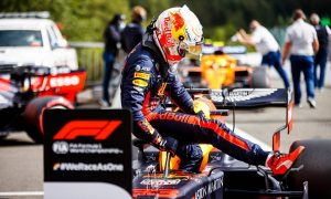 Verstappen 'very pleased' with third in Spa qualifying