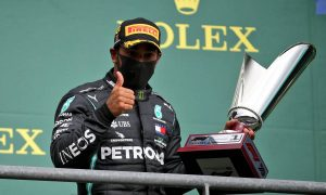 Hamilton admits he was 'nervous' about tyre wear in Spa