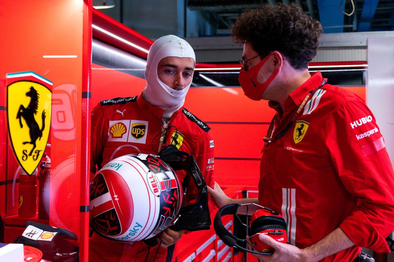 Ferrari CEO Camilleri reiterates full support for Binotto