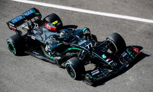 Bottas leads Hamiton to remain on top in FP2 as Norris crashes