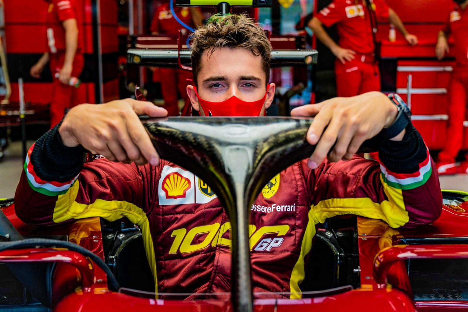Leclerc happy after 'putting everything together' in Q3