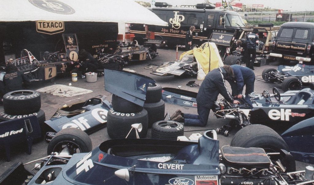 Sharing space in F1 back in the day - F1i.com