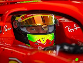 Ferrari stages F1 test for Schumacher, Ilott and Shwartzman