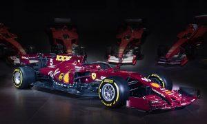 Ferrari unveils 1,000th Grand Prix classic livery
