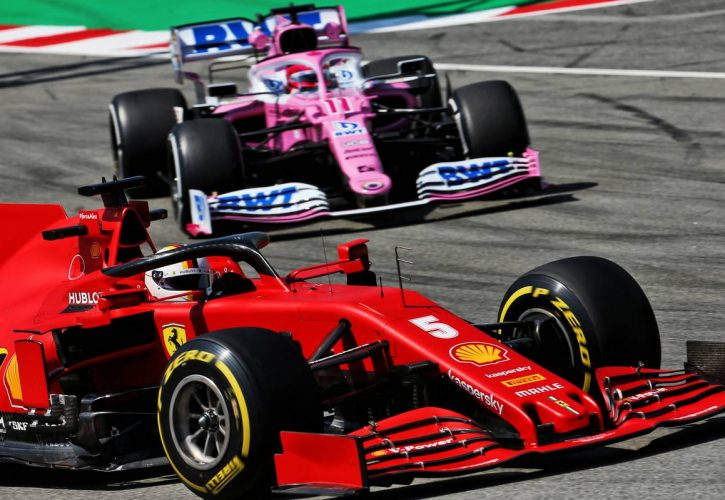 Italian Grand Prix paused after Leclerc crash