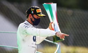 Gasly ecstatic after clinching 'crazy' success in Monza