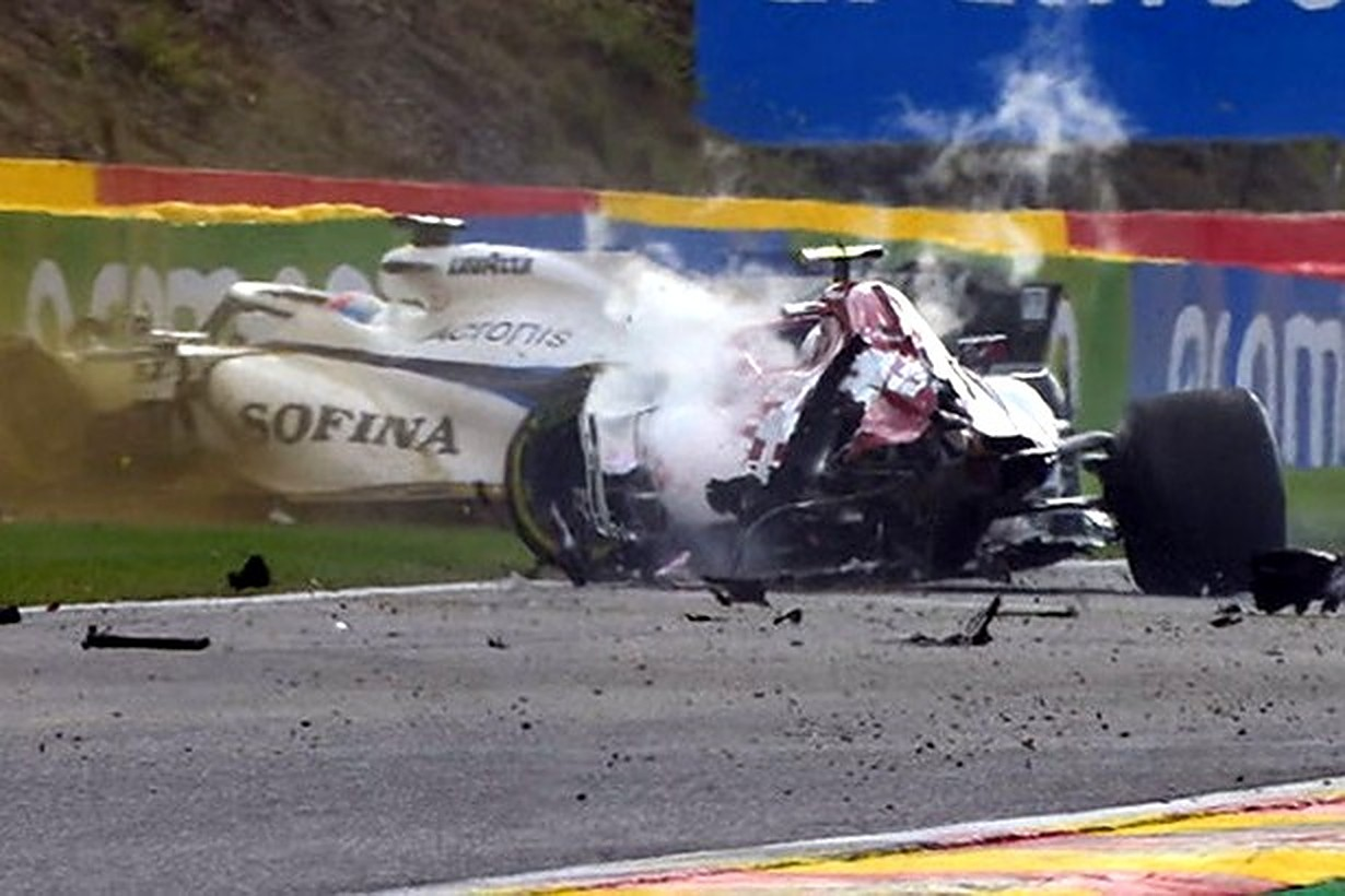 Fia Concerned By Detached Wheel In Giovinazzi Crash