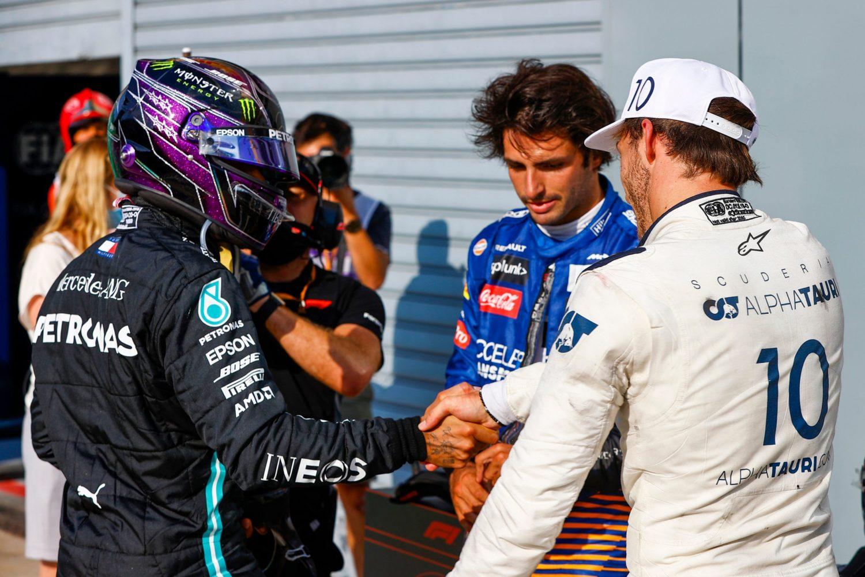 Hamilton 'really impressed' with Gasly career turnaround