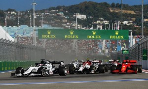 Kvyat hails 'amazing pace' of AlphaTauri at his home race