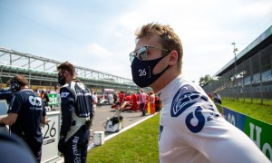 Kvyat was hoping for 'a few more crazy things' at Mugello