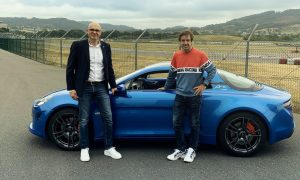 Alonso gets his first perk from Alpine!