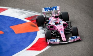 Perez 'pleased' to beat Renault drivers with P4 qualifying performance