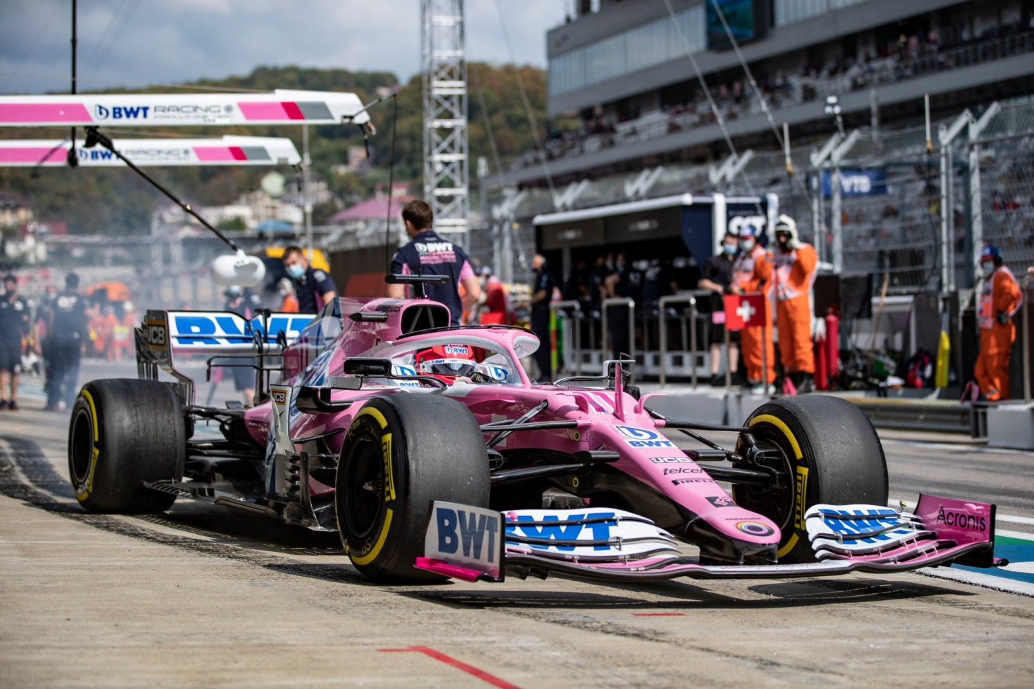 Perez: Tyre management in first stint 'made our race'