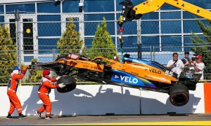 Sainz takes blame for crash, but blasts Sochi's Turn 2