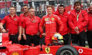 Schumacher to demo father's F2004 at Mugello