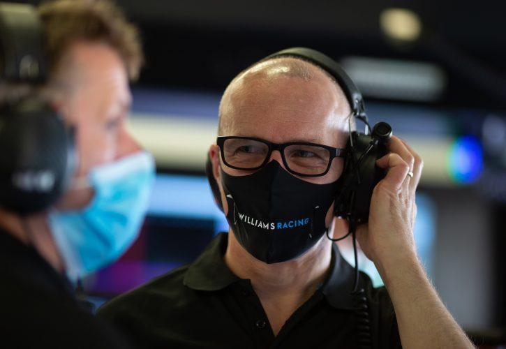 Simon Roberts (GBR) Williams Racing Acting Team Principal