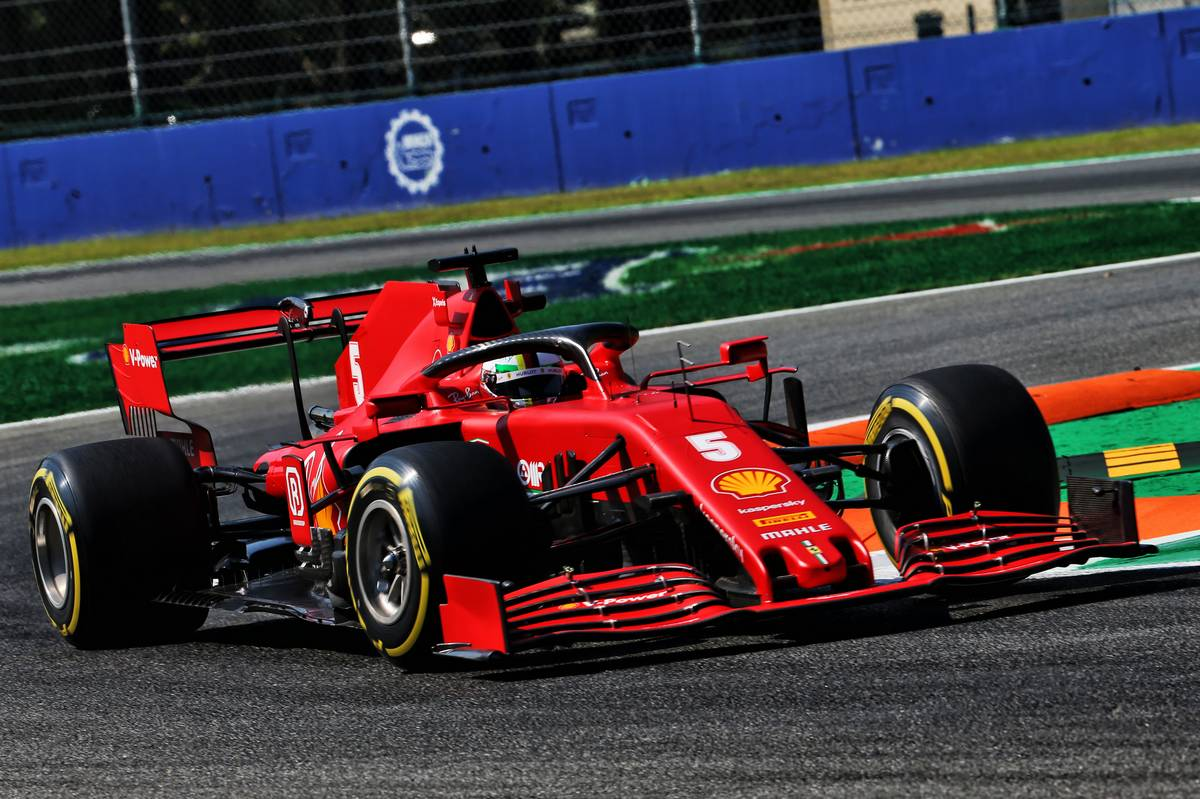 Vettel says 'balloon' tyre pressures not helping SF1000 balance