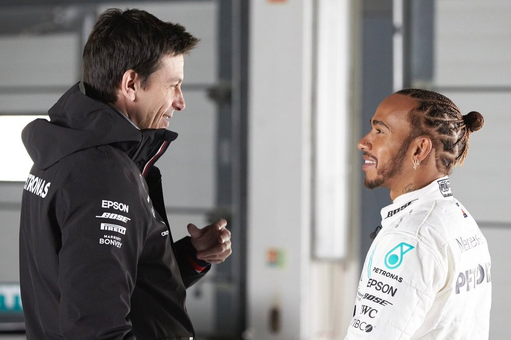 Wolff admits to surviving 'difficult times' with Hamilton - F1i.com