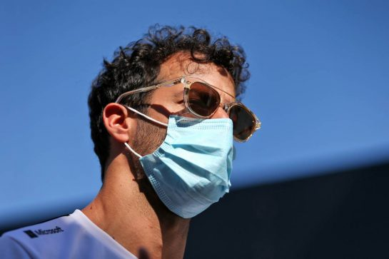 Daniel Ricciardo (AUS) Renault F1 Team. 03.09.2020. Formula 1 World Championship, Rd 8, Italian Grand Prix, Monza, Italy, Preparation Day. - www.xpbimages.com, EMail: requests@xpbimages.com © Copyright: Moy / XPB Images