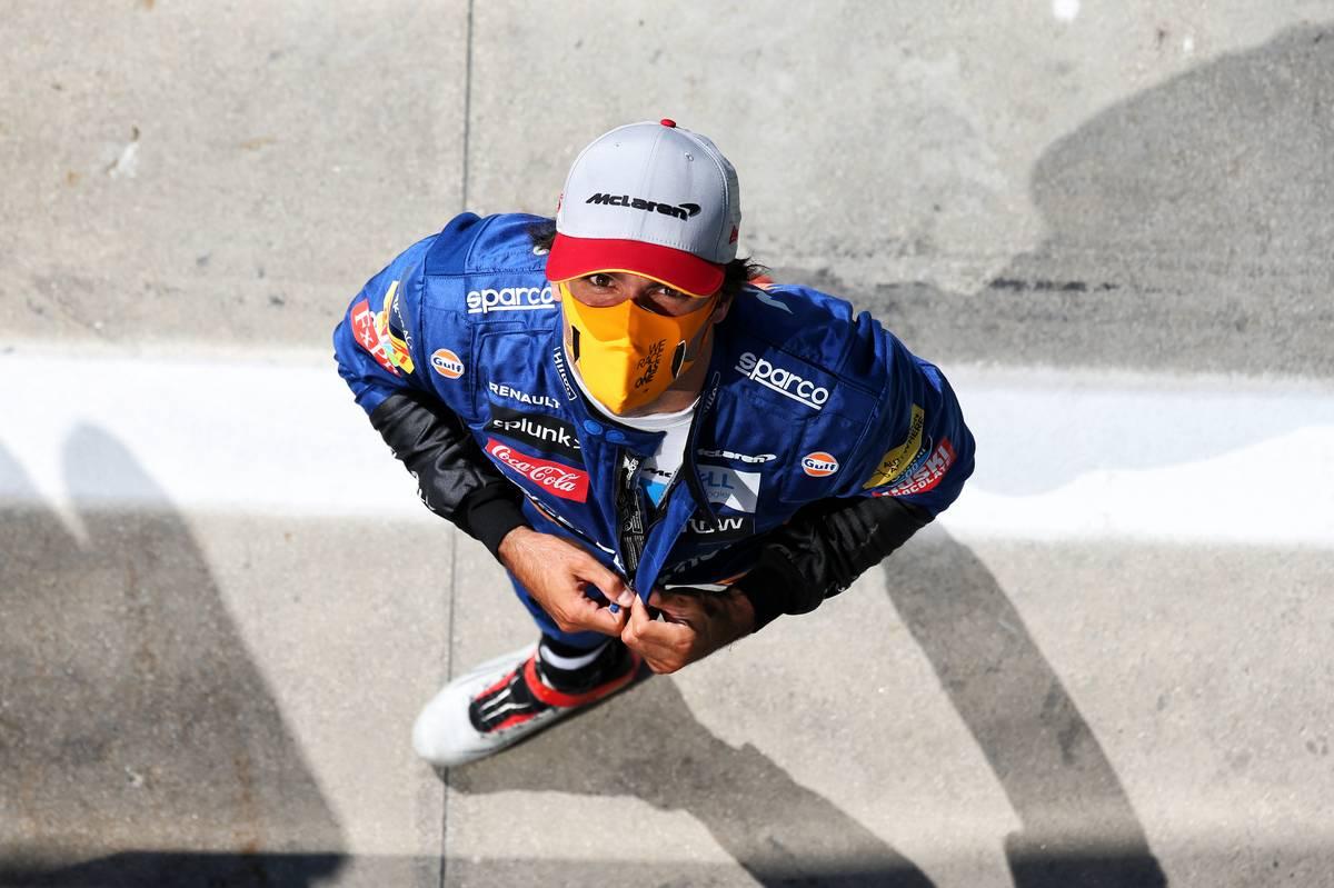 Sainz 'shaking' after best-ever qualifying result