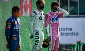 Italian GP: Sunday's action in pictures