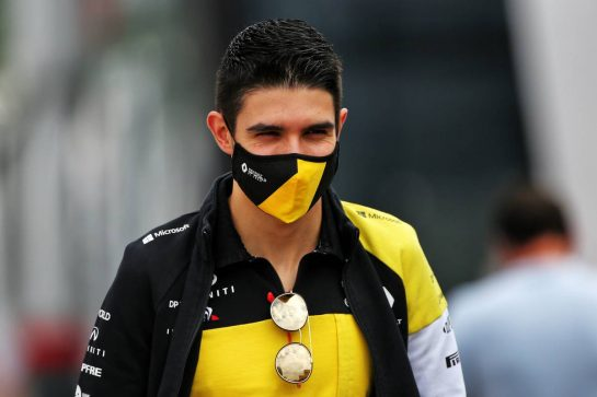 Esteban Ocon (FRA) Renault F1 Team. 10.09.2020. Formula 1 World Championship, Rd 9, Tuscan Grand Prix, Mugello, Italy, Preparation Day. - www.xpbimages.com, EMail: requests@xpbimages.com © Copyright: Moy / XPB Images
