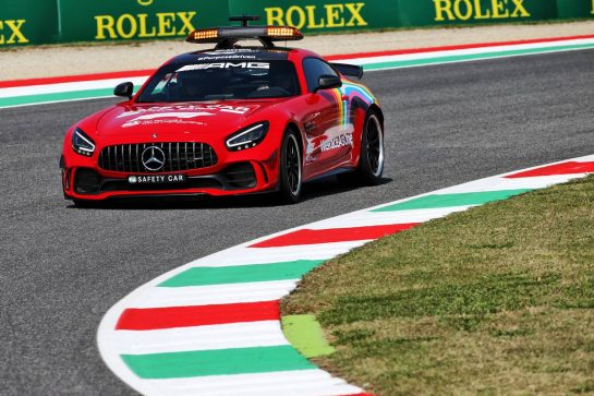 Red FIA Safety Car. 10.09.2020. Formula 1 World Championship, Rd 9, Tuscan Grand Prix, Mugello, Italy, Preparation Day. - www.xpbimages.com, EMail: requests@xpbimages.com © Copyright: Batchelor / XPB Images