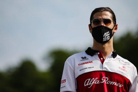Antonio Giovinazzi (ITA), Alfa Romeo Racing 10.09.2020. Formula 1 World Championship, Rd 9, Tuscan Grand Prix, Mugello, Italy, Preparation Day.- www.xpbimages.com, EMail: requests@xpbimages.com © Copyright: Charniaux / XPB Images