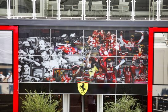 Scuderia Ferrari  10.09.2020. Formula 1 World Championship, Rd 9, Tuscan Grand Prix, Mugello, Italy, Preparation Day.- www.xpbimages.com, EMail: requests@xpbimages.com © Copyright: Charniaux / XPB Images