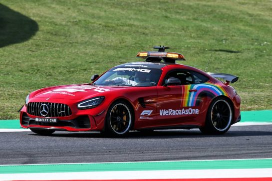 Red FIA Safety Car. 11.09.2020. Formula 1 World Championship, Rd 9, Tuscan Grand Prix, Mugello, Italy, Practice Day. - www.xpbimages.com, EMail: requests@xpbimages.com © Copyright: Batchelor / XPB Images