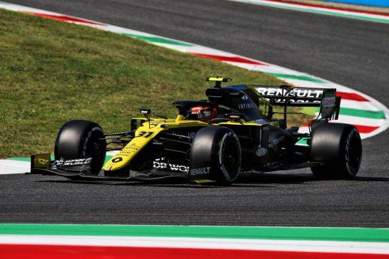 Esteban Ocon (FRA) Renault F1 Team RS20. 11.09.2020. Formula 1 World Championship, Rd 9, Tuscan Grand Prix, Mugello, Italy, Practice Day. - www.xpbimages.com, EMail: requests@xpbimages.com © Copyright: Batchelor / XPB Images