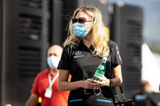 Stephanie Dattilo (USA) Dorilton Capital Chief Legal Officer and Group General Counsel. 11.09.2020. Formula 1 World Championship, Rd 9, Tuscan Grand Prix, Mugello, Italy, Practice Day. - www.xpbimages.com, EMail: requests@xpbimages.com © Copyright: Bearne / XPB Images
