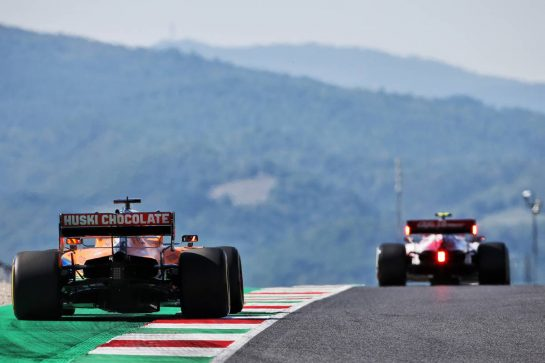 Carlos Sainz Jr (ESP) McLaren MCL35. 11.09.2020. Formula 1 World Championship, Rd 9, Tuscan Grand Prix, Mugello, Italy, Practice Day. - www.xpbimages.com, EMail: requests@xpbimages.com © Copyright: Charniaux / XPB Images