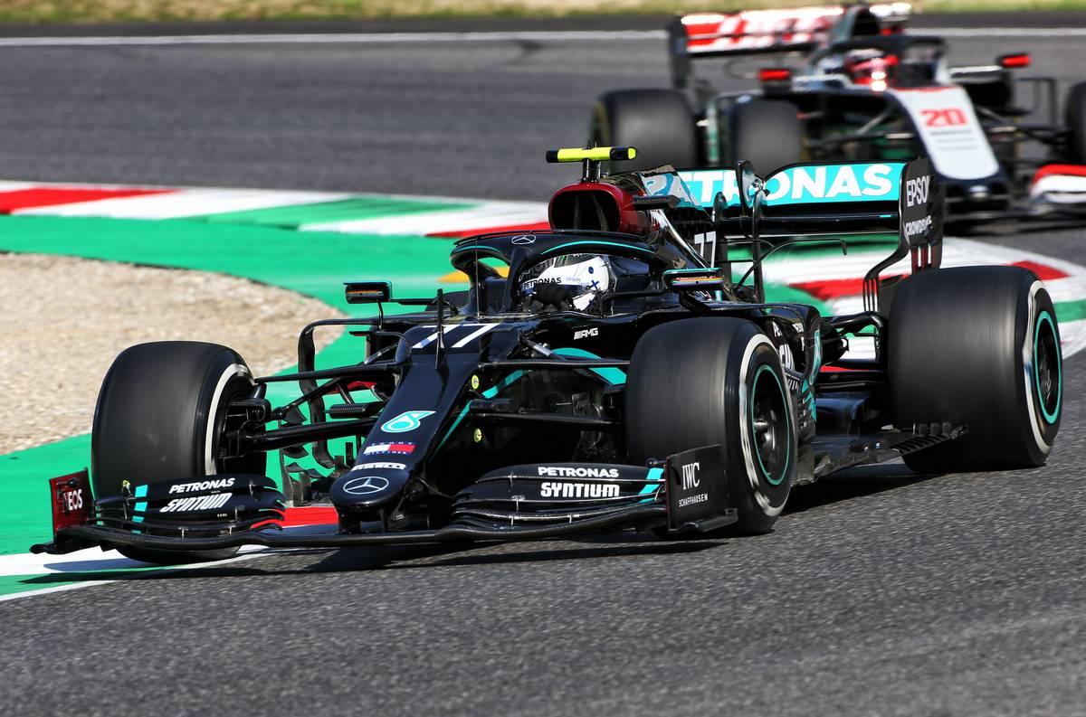 Bottas edges Verstappen and Leclerc in FP1 at Mugello