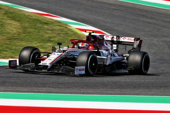 Antonio Giovinazzi (ITA) Alfa Romeo Racing C39. 11.09.2020. Formula 1 World Championship, Rd 9, Tuscan Grand Prix, Mugello, Italy, Practice Day. - www.xpbimages.com, EMail: requests@xpbimages.com © Copyright: Batchelor / XPB Images