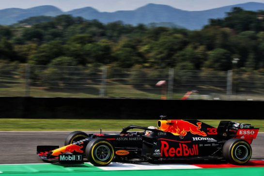Max Verstappen (NLD) Red Bull Racing RB16. 11.09.2020. Formula 1 World Championship, Rd 9, Tuscan Grand Prix, Mugello, Italy, Practice Day. - www.xpbimages.com, EMail: requests@xpbimages.com © Copyright: Batchelor / XPB Images
