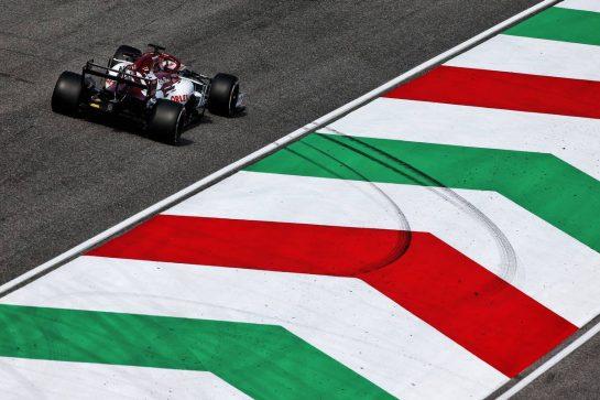 Kimi Raikkonen (FIN) Alfa Romeo Racing C39. 11.09.2020. Formula 1 World Championship, Rd 9, Tuscan Grand Prix, Mugello, Italy, Practice Day. - www.xpbimages.com, EMail: requests@xpbimages.com © Copyright: Moy / XPB Images