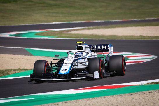 Nicholas Latifi (CDN), Williams Racing 12.09.2020. Formula 1 World Championship, Rd 9, Tuscan Grand Prix, Mugello, Italy, Qualifying Day.- www.xpbimages.com, EMail: requests@xpbimages.com © Copyright: Charniaux / XPB Images
