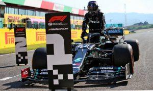 Hamilton wins knife-edge Mugello pole over Bottas