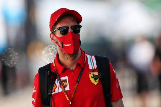 Sebastian Vettel (GER) Ferrari. 13.09.2020. Formula 1 World Championship, Rd 9, Tuscan Grand Prix, Mugello, Italy, Race Day. - www.xpbimages.com, EMail: requests@xpbimages.com © Copyright: Moy / XPB Images