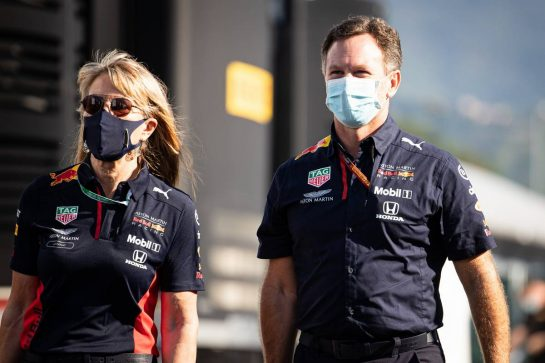 Christian Horner (GBR) Red Bull Racing Team Principal. 13.09.2020. Formula 1 World Championship, Rd 9, Tuscan Grand Prix, Mugello, Italy, Race Day. - www.xpbimages.com, EMail: requests@xpbimages.com © Copyright: Bearne / XPB Images