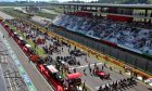 The grid before the start of the race. 13.09.2020.