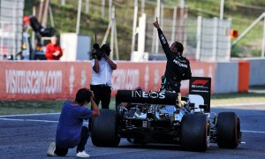 Hamilton 'pretty exhausted' after 'three races in one day'
