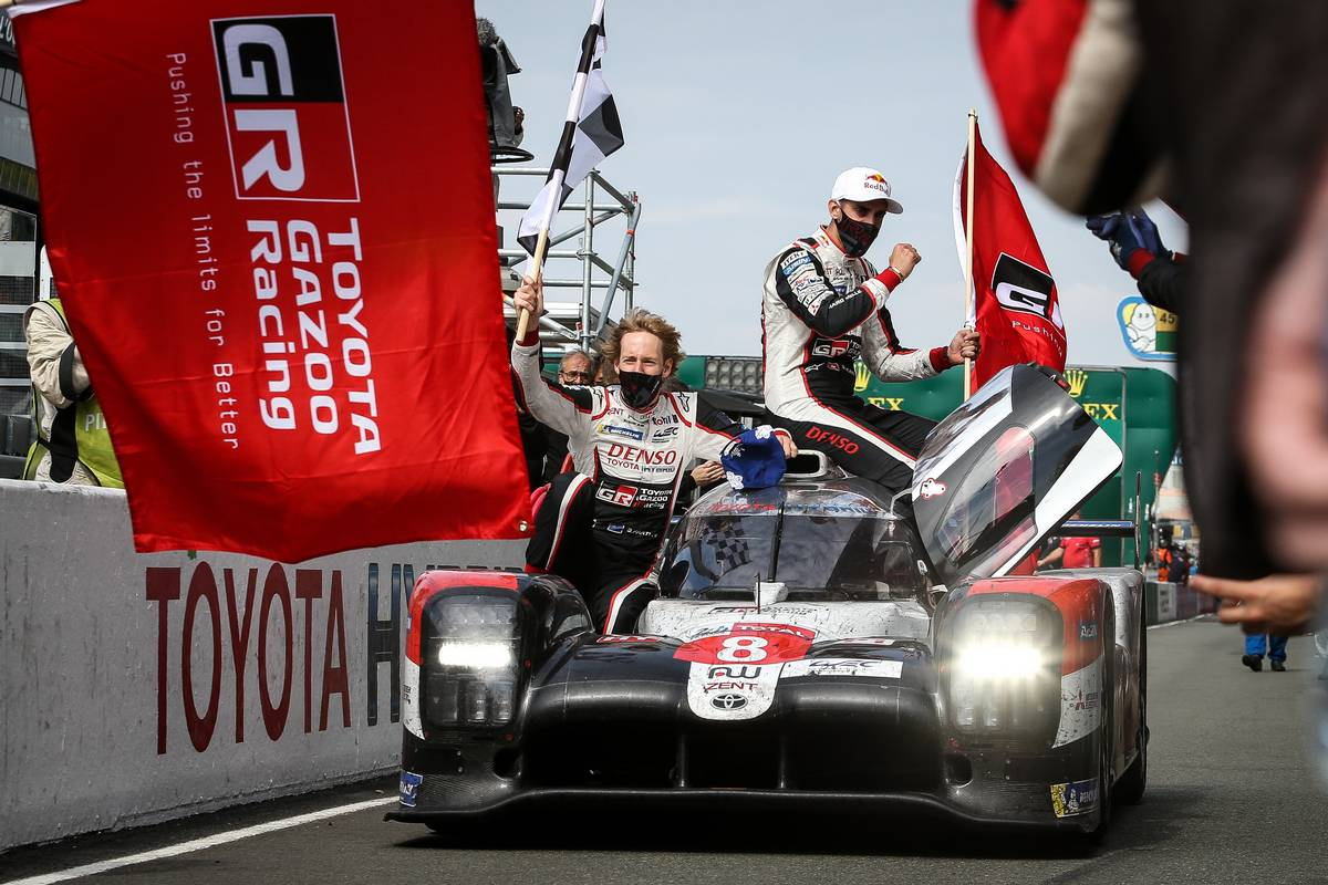 Toyota concludes LMP1 adventure at Le Mans with third win