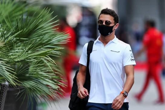 Lando Norris (GBR) McLaren. 24.09.2020. Formula 1 World Championship, Rd 10, Russian Grand Prix, Sochi Autodrom, Sochi, Russia, Preparation Day. - www.xpbimages.com, EMail: requests@xpbimages.com © Copyright: Moy / XPB Images
