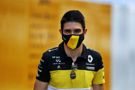 Esteban Ocon (FRA) Renault F1 Team. 24.09.2020. Formula 1 World Championship, Rd 10, Russian Grand Prix, Sochi Autodrom, Sochi, Russia, Preparation Day. - www.xpbimages.com, EMail: requests@xpbimages.com © Copyright: Moy / XPB Images